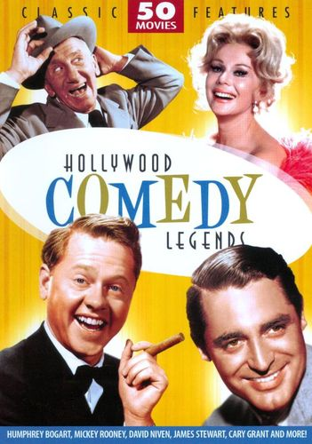 Hollywood Comedy Legends: 50 Movies [12 Discs] [DVD] 18967581