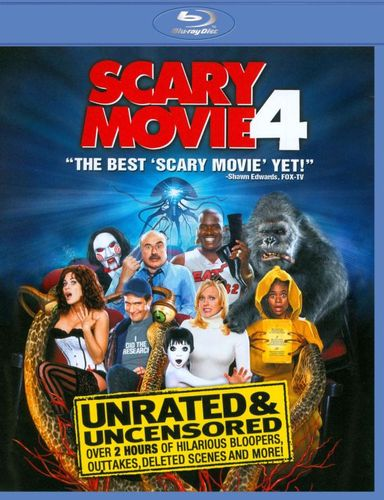 Scary Movie 4 [Unrated] [Blu-ray] [2006] 18976537