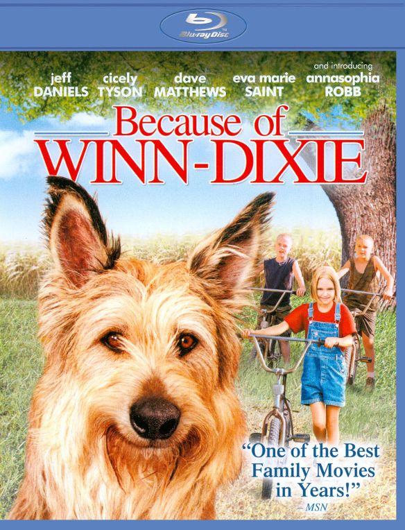 Because of Winn-Dixie [Blu-ray] [2005] 19028316