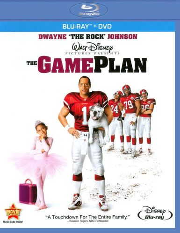 The Game Plan [Blu-Ray/DVD] [Blu-ray/DVD] [2007] 19048451