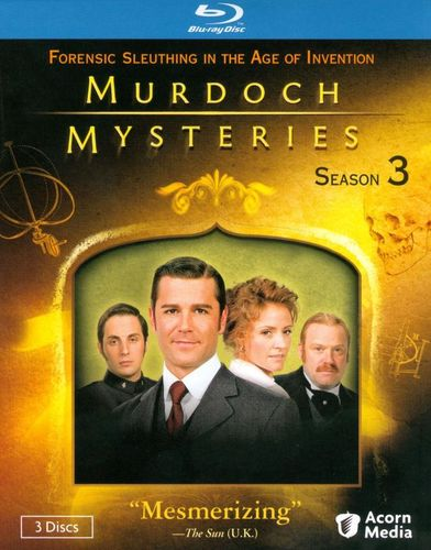 Murdoch Mysteries: Season Three [4 Discs] [Blu-ray] 19077059