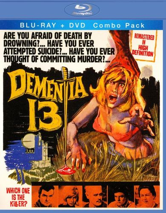 Dementia 13 [2 Discs] [Blu-ray/DVD] [1963] 19090302