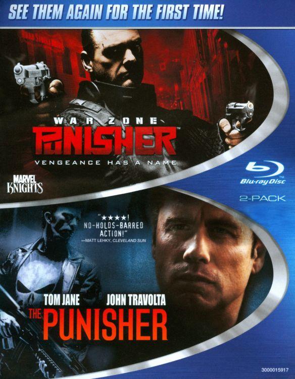 Punisher/Punisher 2: War Zone [2 Discs] [Blu-ray] 19108784
