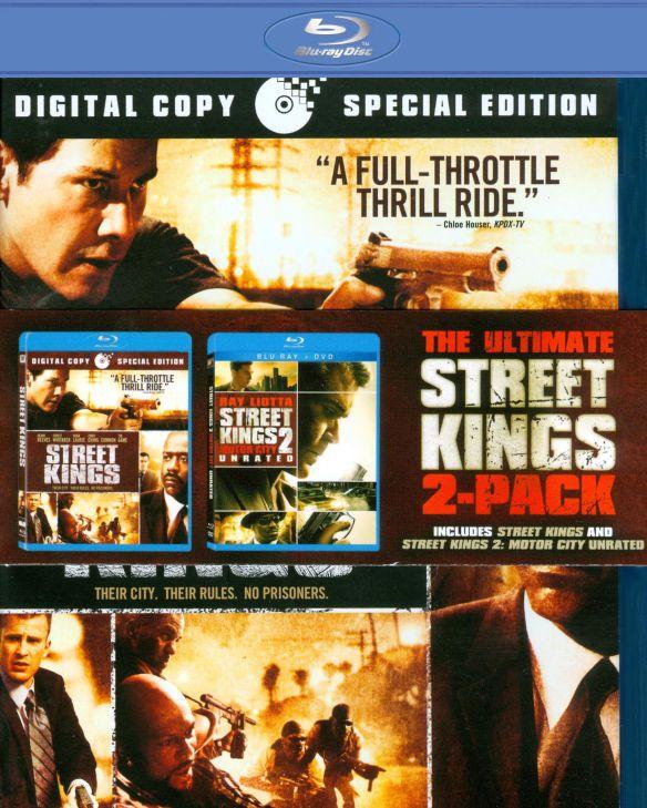 Street Kings/Street Kings 2: Motor City [Unrated] [2 Discs] [Blu-ray] 19112401