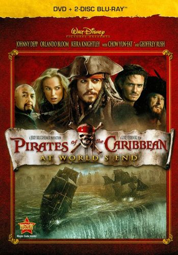 Pirates of the Caribbean: At World's End [3 Discs] [DVD/Blu-ray] [Blu-ray/DVD] [2007] 19138685