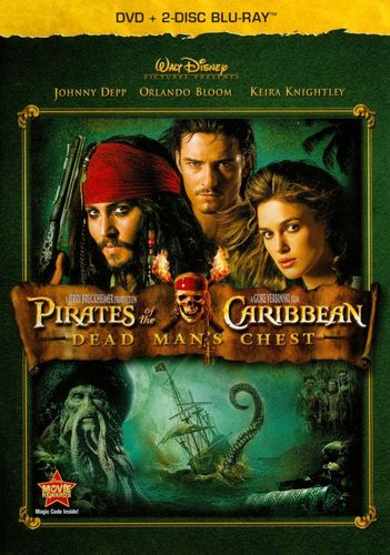 Pirates of Caribbean: Dead Man's Chest [3 Discs] [Blu-ray/DVD] [2006] 19138985