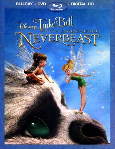 TinkerBell and the Legend of the NeverBeast [2 Discs] [Includes Digital Copy] [Blu-ray/DVD] [2014] 1914036