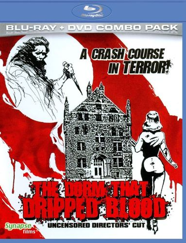 The Dorm That Dripped Blood [2 Discs] [Blu-ray/DVD] [1982] 19150831
