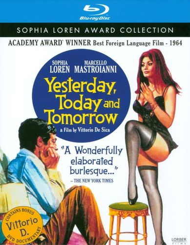 Yesterday, Today and Tomorrow [Blu-ray] [1963] 19150959