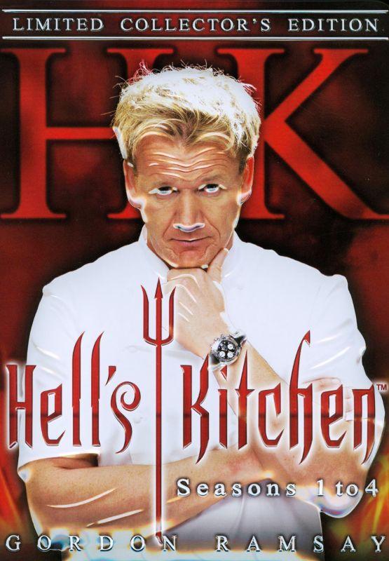 Hell's Kitchen: Seasons 1-4 [13 Discs] [DVD] 19193844