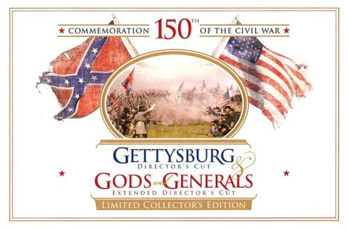 Gettysburg/Gods and Generals [Director's Cut] [Limited Edition Gift Set] [6 Discs] [DVD] 19197659