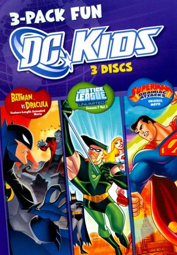 DC Kids: 3-Pack Fun [3 Discs] [DVD] 19234306