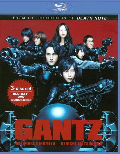 Gantz [3 Discs] [Blu-ray/DVD/HD DVD] [Blu-ray/DVD] [2011] 19292283