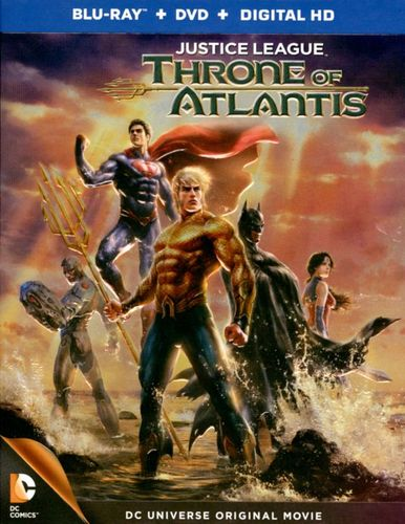 Justice League: Throne of Atlantis [Blu-ray] [2015] 1931049