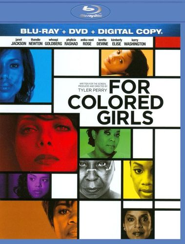 For Colored Girls [Blu-ray] [2010] 1931345