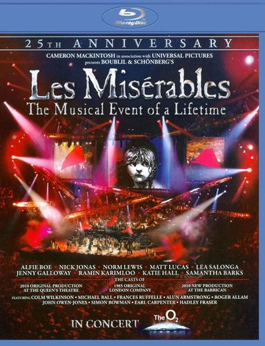 Les Miserables: 25th Anniversary [Blu-ray] [2010] 1934175