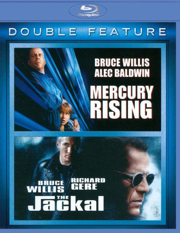 Mercury Rising/The Jackal [3 Discs] [Blu-ray] 1934193