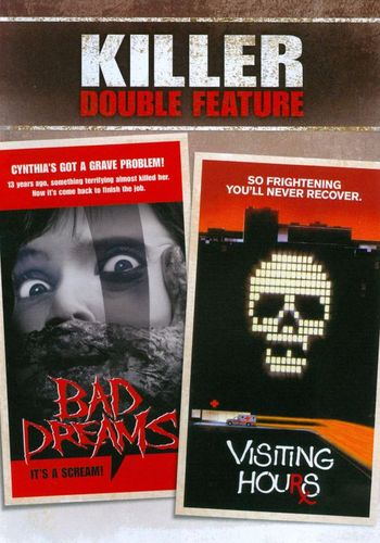 Killer Double Feature: Bad Dreams/Visiting Hours [2 Discs] [DVD] 19396251