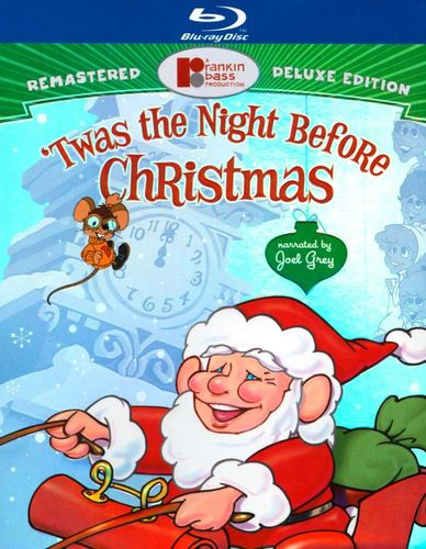 'Twas the Night Before Christmas [Deluxe Edition] [2 Discs] [Includes Digital Copy] [Blu-ray/DVD] [1974] 19430486