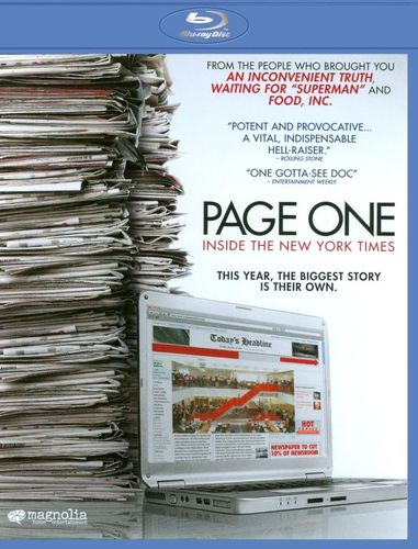 Page One: Inside the New York Times [Blu-ray] [2010] 19447176
