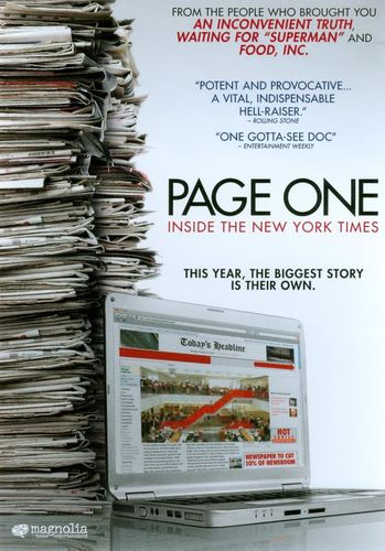 Page One: Inside the New York Times [DVD] [2010] 19447237