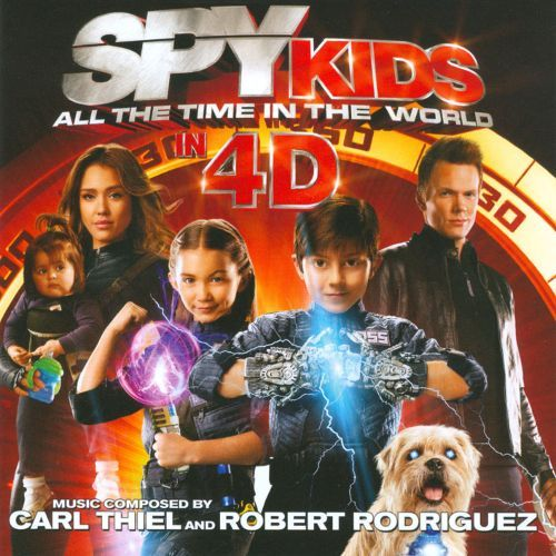 Spy Kids: All the Time in the World in 4D [CD] 19461458
