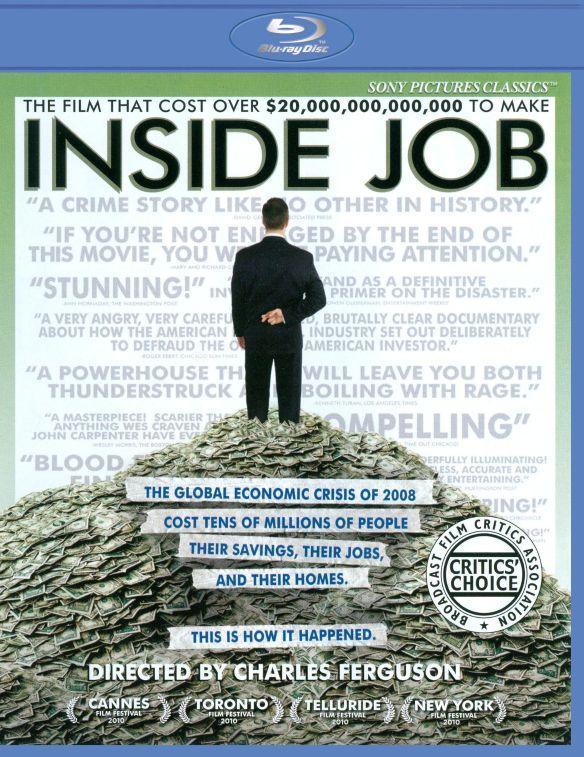 Inside Job [Blu-ray] [2010] 1953063
