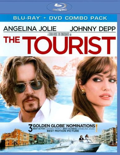 The Tourist [2 Discs] [Blu-Ray/DVD] [Blu-ray/DVD] [2010] 1953212