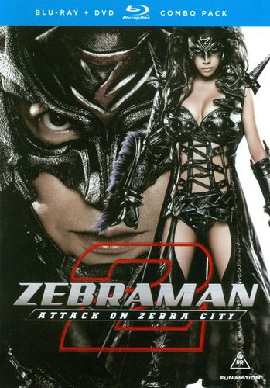 Zebraman 2: Attack on Zebra City [Blu-ray] [2010] 19547218