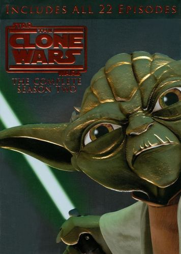 Star Wars: The Clone Wars - The Complete Season Two [4 Discs] [DVD] 19549534
