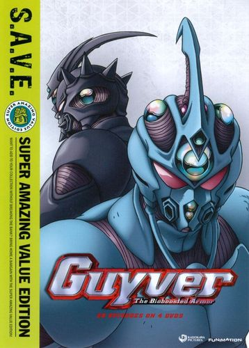Guyver: The Bioboosted Armor - The Complete Series [S.A.V.E.] [4 Discs] [DVD] 19587151