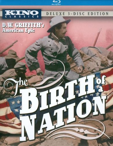 The Birth of a Nation [Deluxe Edition] [3 Discs] [Blu-ray/DVD] [1915] 19591879