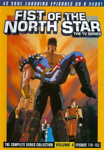 Fist of the North Star: The Complete Series Collection, Vol. 4 [6 Discs] [DVD] 19615264