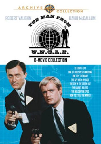 The Man from U.N.C.L.E.: 8 Movies Collection [4 Discs] [DVD] 19654369