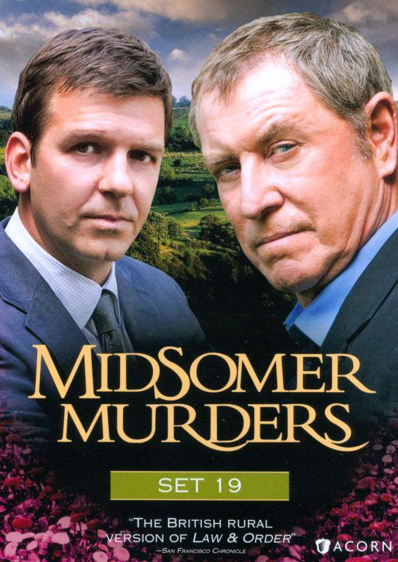 Midsomer Murders: Set 19 [4 Discs] [DVD] 19714273