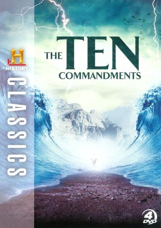 History Classics: The Ten Commandments [4 Discs] [DVD] 19752236
