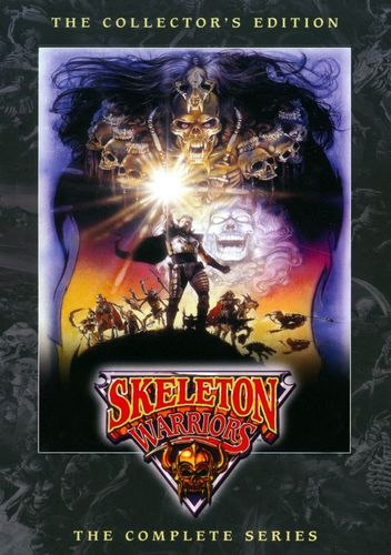 Skeleton Warriors: The Complete Series [2 Discs] [DVD] 19753447