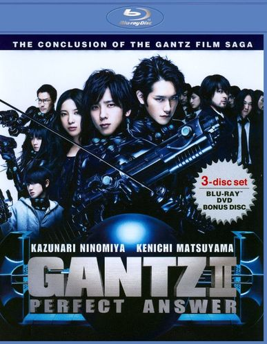 Gantz II: Perfect Answer [3 Discs] [Blu-ray/DVD] [2011] 19764073