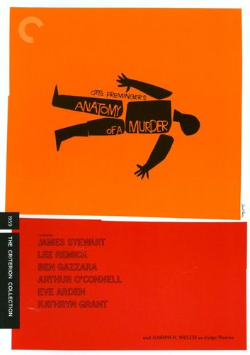 Anatomy of a Murder [Criterion Collection] [2 Discs] [DVD] [1959] 19770192