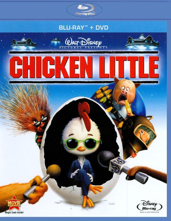 Chicken Little [2 Discs] [Blu-ray/DVD] [2005] 1980558