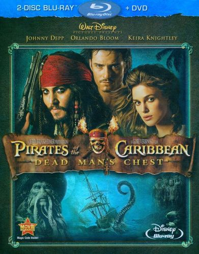 Pirates of the Caribbean: Dead Man's Chest [3 Discs] [Blu-ray/DVD] [2006] 1980585