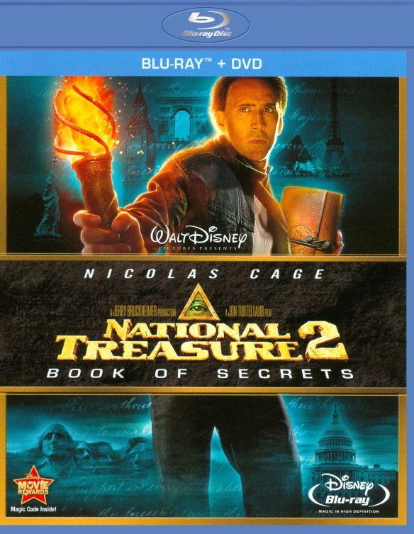 National Treasure 2: Book of Secrets [2 Discs] [Blu-ray/DVD] [2007] 1980619