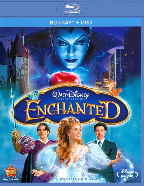 Enchanted [WS] [2 Discs] [Blu-ray/DVD] [2007] 1980628
