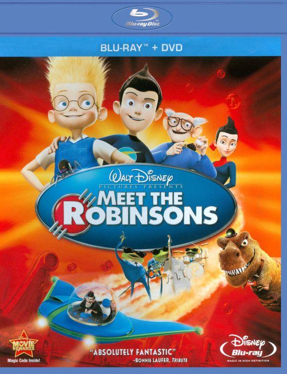 Meet the Robinsons [2 Discs] [Blu-ray/DVD] [2007] 1980646