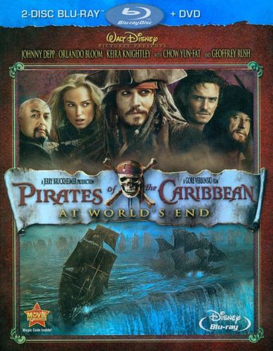 Pirates of the Caribbean: At World's End [3 Discs] [Blu-ray/DVD] [2007] 1980664
