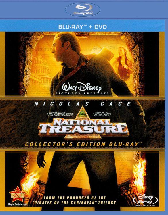 National Treasure [WS] [2 Discs] [Blu-ray/DVD] [2004] 1980719