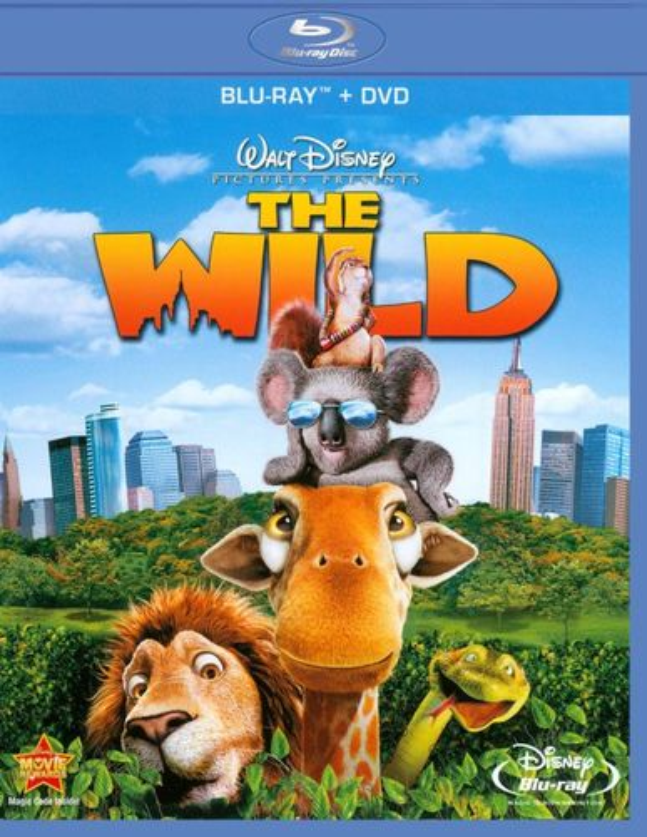 The Wild [2 Discs] [Blu-ray/DVD] [2006] 1980755
