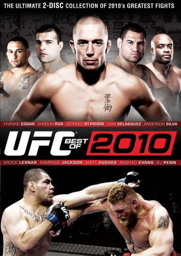UFC: Best of 2010 [2 Discs] [DVD] [2011] 1980937