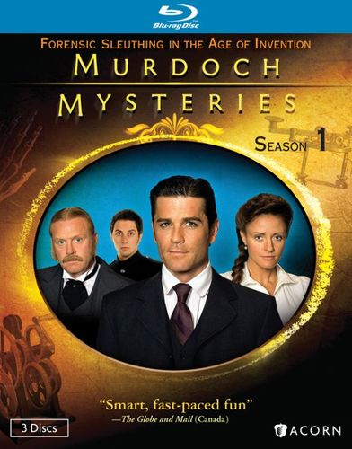 Murdoch Mysteries: Season One [3 Discs] [Blu-ray] 19914235