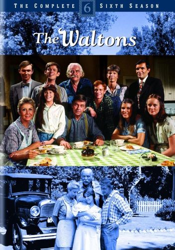 The Waltons: The Complete Sixth Season [6 Discs] [DVD] 19936237